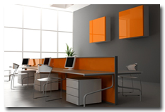 Wnętrza biurowe - realizacje