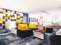 Projekt wnętrza biurowe hol