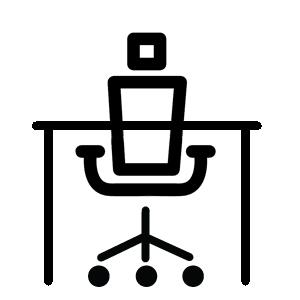 Wnętrza biurowe - miejsca pracy