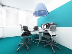 Projekt wnętrza biurowe