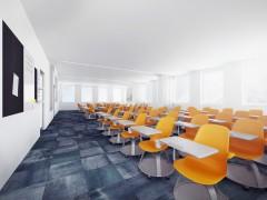 Projekt wnętrza biurowe sala konferencyjna